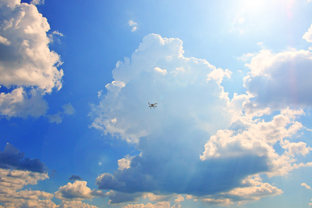 droni trasporto aereo